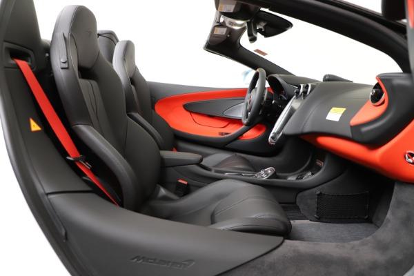 New 2020 McLaren 600LT Convertible for sale Sold at Maserati of Westport in Westport CT 06880 25