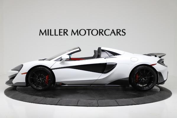 New 2020 McLaren 600LT Convertible for sale Sold at Maserati of Westport in Westport CT 06880 3