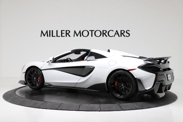 New 2020 McLaren 600LT Convertible for sale Sold at Maserati of Westport in Westport CT 06880 4