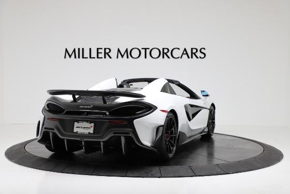New 2020 McLaren 600LT Convertible for sale Sold at Maserati of Westport in Westport CT 06880 7