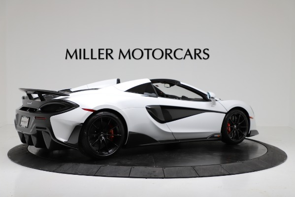 New 2020 McLaren 600LT Convertible for sale Sold at Maserati of Westport in Westport CT 06880 8