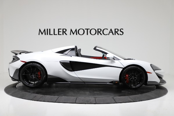 New 2020 McLaren 600LT Convertible for sale Sold at Maserati of Westport in Westport CT 06880 9