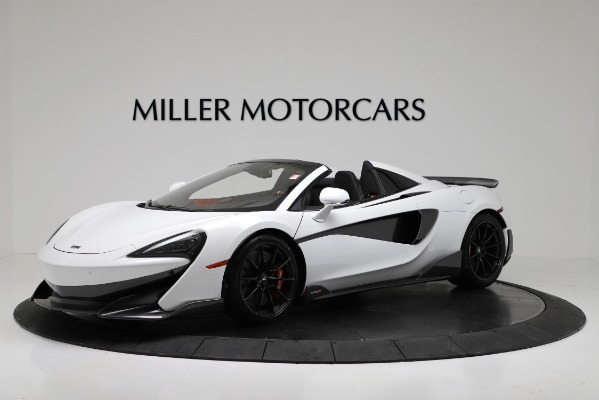 New 2020 McLaren 600LT Convertible for sale Sold at Maserati of Westport in Westport CT 06880 1