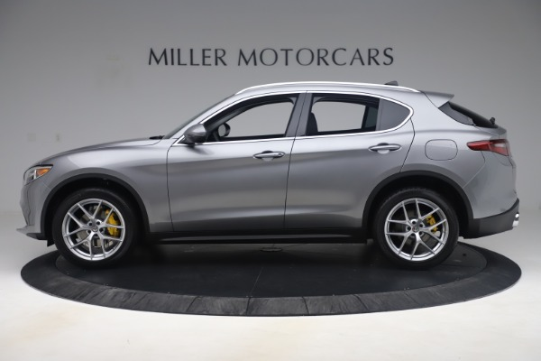 New 2019 Alfa Romeo Stelvio Ti Lusso Q4 for sale Sold at Maserati of Westport in Westport CT 06880 3