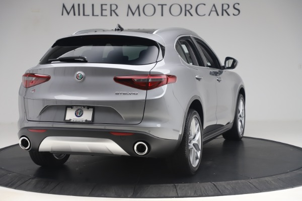 New 2019 Alfa Romeo Stelvio Ti Lusso Q4 for sale Sold at Maserati of Westport in Westport CT 06880 7