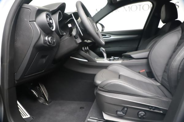 New 2019 Alfa Romeo Stelvio Ti Sport Q4 for sale Sold at Maserati of Westport in Westport CT 06880 14