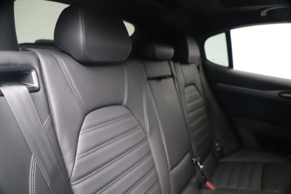 New 2019 Alfa Romeo Stelvio Ti Sport Q4 for sale Sold at Maserati of Westport in Westport CT 06880 26