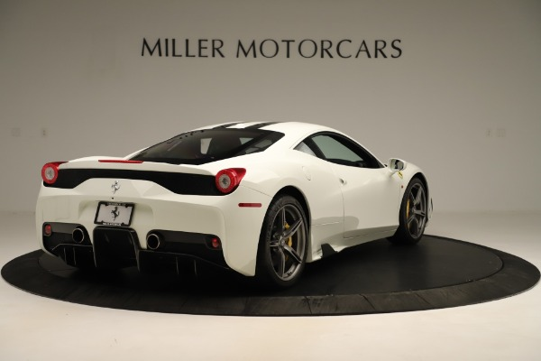 Used 2014 Ferrari 458 Speciale Base for sale Sold at Maserati of Westport in Westport CT 06880 7