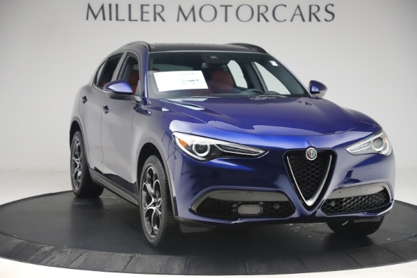 New 2019 Alfa Romeo Stelvio Ti Sport Q4 for sale $58,940 at Maserati of Westport in Westport CT 06880 11