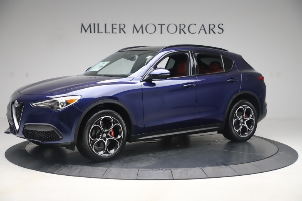 New 2019 Alfa Romeo Stelvio Ti Sport Q4 for sale $58,940 at Maserati of Westport in Westport CT 06880 2