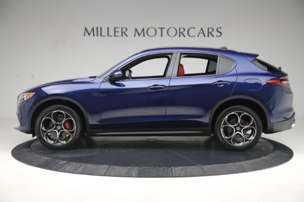 New 2019 Alfa Romeo Stelvio Ti Sport Q4 for sale $58,940 at Maserati of Westport in Westport CT 06880 3