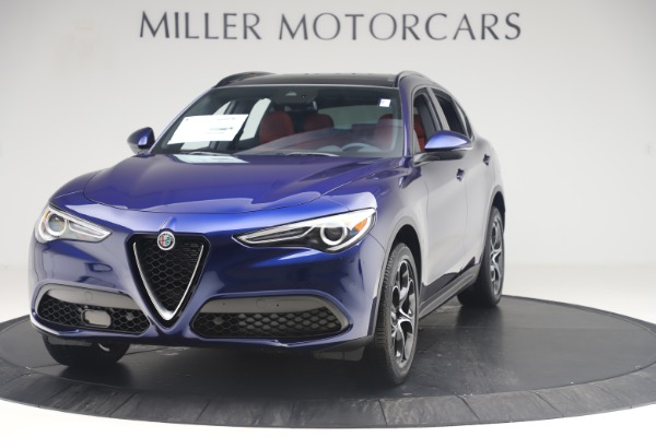 New 2019 Alfa Romeo Stelvio Ti Sport Q4 for sale $58,940 at Maserati of Westport in Westport CT 06880 1