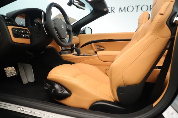 New 2019 Maserati GranTurismo Sport Convertible for sale $163,845 at Maserati of Westport in Westport CT 06880 20