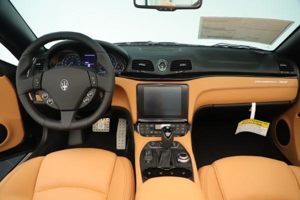 New 2019 Maserati GranTurismo Sport Convertible for sale $163,845 at Maserati of Westport in Westport CT 06880 22