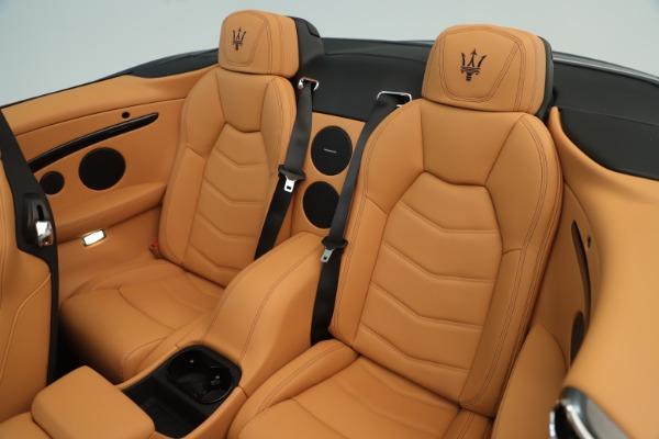 New 2019 Maserati GranTurismo Sport Convertible for sale $163,845 at Maserati of Westport in Westport CT 06880 23