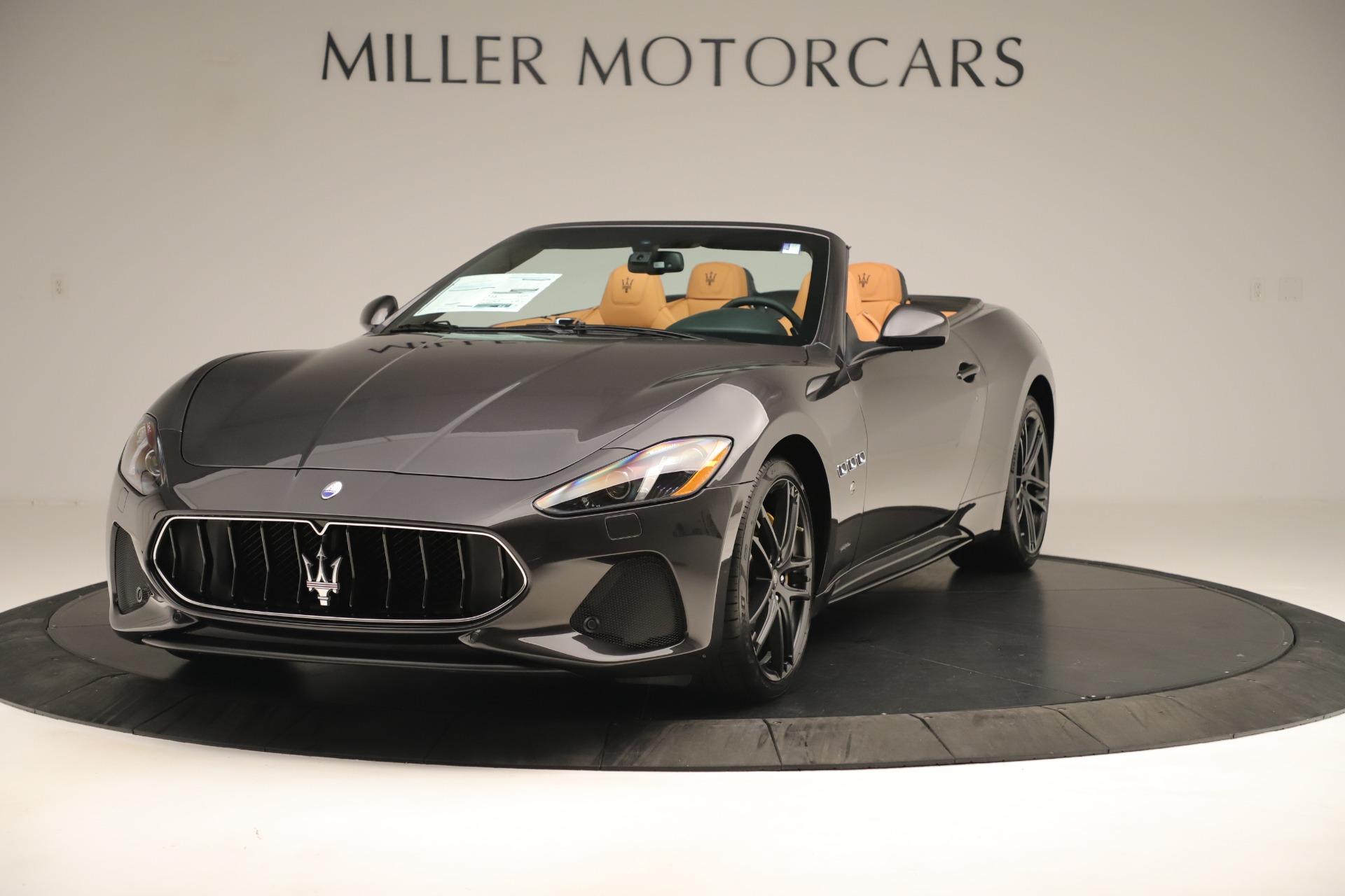 New 2019 Maserati GranTurismo Sport Convertible for sale $163,845 at Maserati of Westport in Westport CT 06880 1