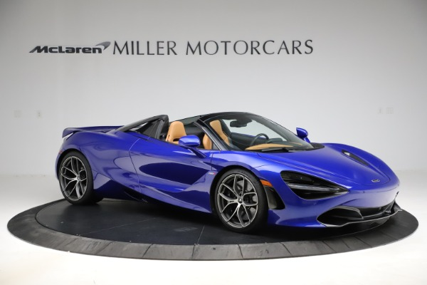 New 2020 McLaren 720S SPIDER Convertible for sale $374,830 at Maserati of Westport in Westport CT 06880 10