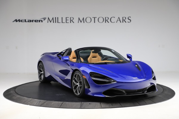 New 2020 McLaren 720S SPIDER Convertible for sale $374,830 at Maserati of Westport in Westport CT 06880 11