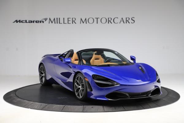 New 2020 McLaren 720S SPIDER Convertible for sale $374,830 at Maserati of Westport in Westport CT 06880 11