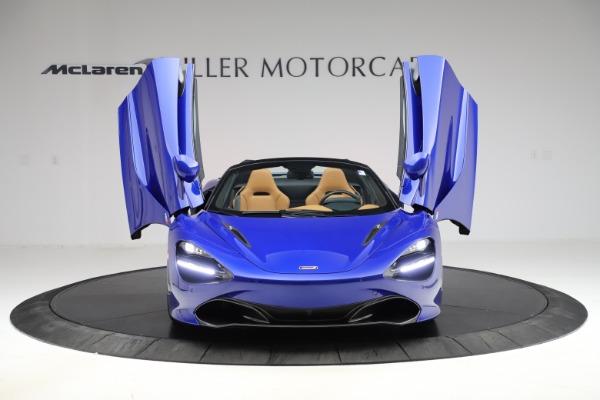 New 2020 McLaren 720S SPIDER Convertible for sale $374,830 at Maserati of Westport in Westport CT 06880 13