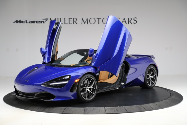 New 2020 McLaren 720S SPIDER Convertible for sale $374,830 at Maserati of Westport in Westport CT 06880 14