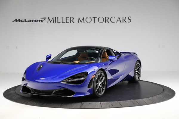 New 2020 McLaren 720S SPIDER Convertible for sale $374,830 at Maserati of Westport in Westport CT 06880 16