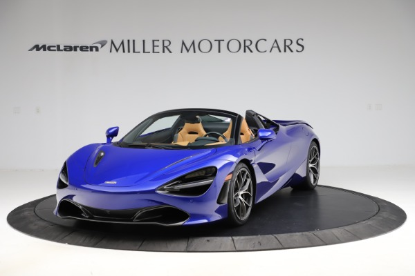 New 2020 McLaren 720S SPIDER Convertible for sale $374,830 at Maserati of Westport in Westport CT 06880 2
