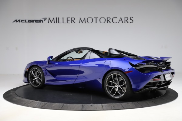 New 2020 McLaren 720S SPIDER Convertible for sale $374,830 at Maserati of Westport in Westport CT 06880 4