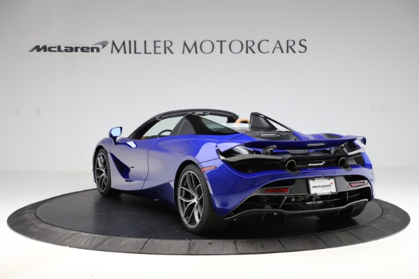 New 2020 McLaren 720S SPIDER Convertible for sale $374,830 at Maserati of Westport in Westport CT 06880 5