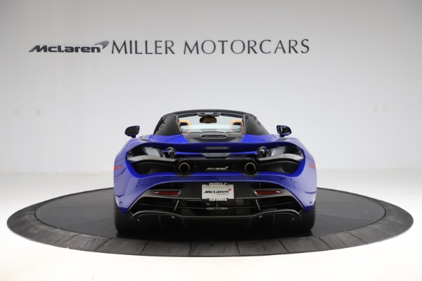 New 2020 McLaren 720S SPIDER Convertible for sale $374,830 at Maserati of Westport in Westport CT 06880 6