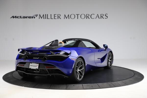 New 2020 McLaren 720S SPIDER Convertible for sale $374,830 at Maserati of Westport in Westport CT 06880 7