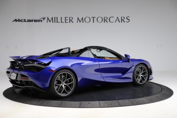 New 2020 McLaren 720S SPIDER Convertible for sale $374,830 at Maserati of Westport in Westport CT 06880 8