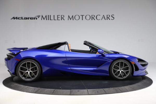 New 2020 McLaren 720S SPIDER Convertible for sale $374,830 at Maserati of Westport in Westport CT 06880 9