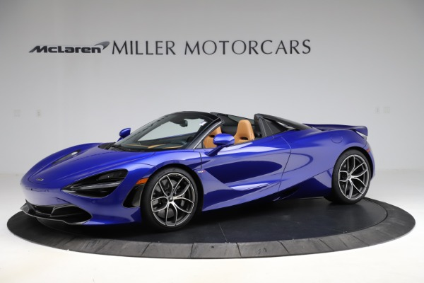 New 2020 McLaren 720S SPIDER Convertible for sale $374,830 at Maserati of Westport in Westport CT 06880 1