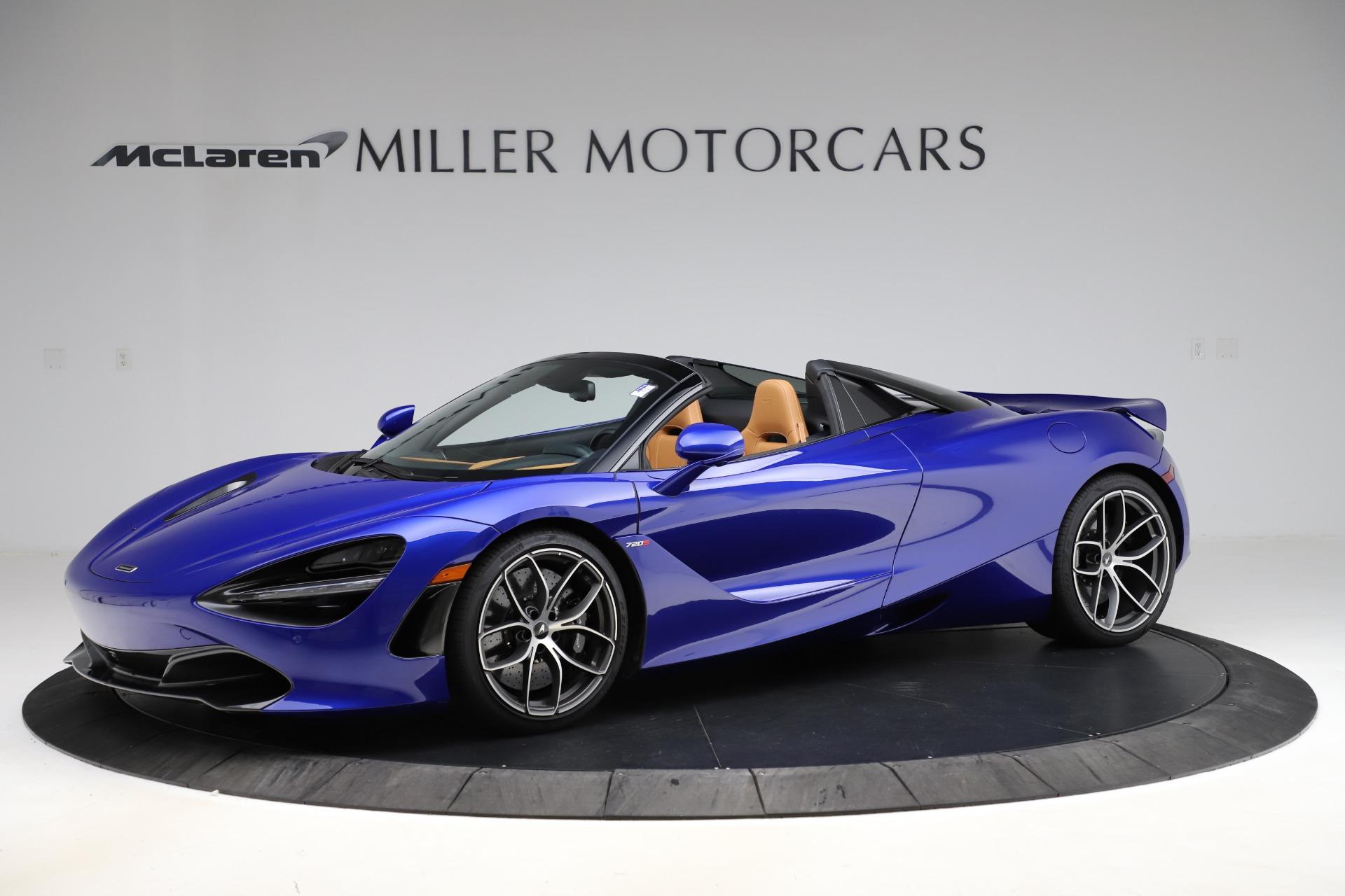 New 2020 McLaren 720S SPIDER Convertible for sale $374,830 at Maserati of Westport in Westport CT 06880 1