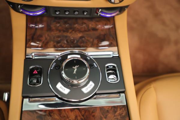 Used 2016 Rolls-Royce Dawn for sale Sold at Maserati of Westport in Westport CT 06880 24