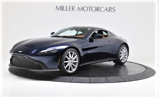 New 2020 Aston Martin Vantage Coupe for sale $163,524 at Maserati of Westport in Westport CT 06880 1