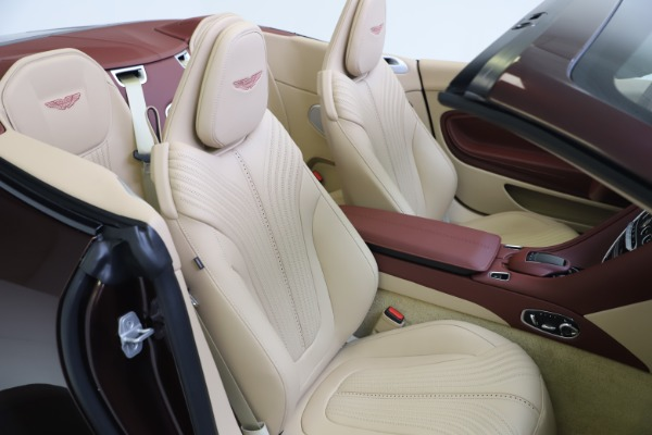 Used 2020 Aston Martin DB11 Volante Convertible for sale $217,900 at Maserati of Westport in Westport CT 06880 26