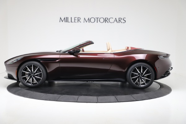 Used 2020 Aston Martin DB11 Volante Convertible for sale $217,900 at Maserati of Westport in Westport CT 06880 3