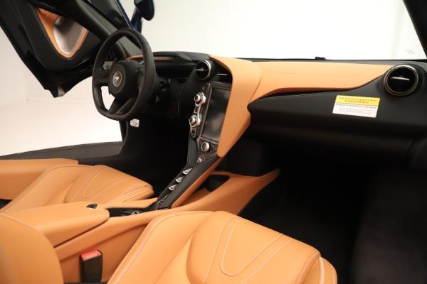 New 2020 McLaren 720S Spider Convertible for sale $372,250 at Maserati of Westport in Westport CT 06880 15