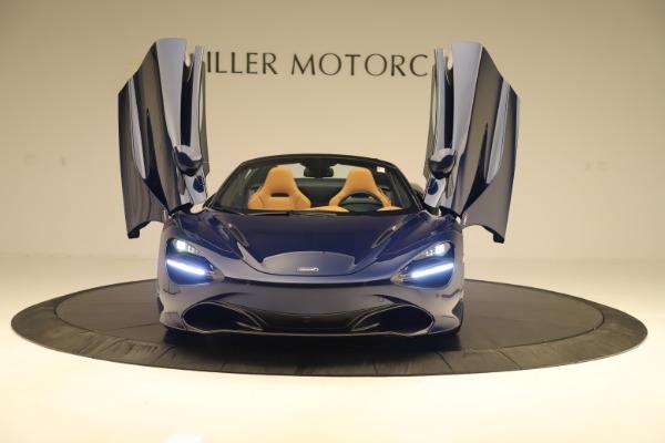 New 2020 McLaren 720S Spider Convertible for sale $372,250 at Maserati of Westport in Westport CT 06880 27
