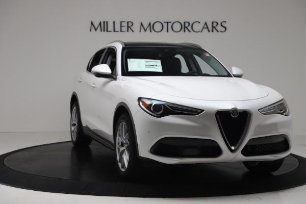 New 2019 Alfa Romeo Stelvio Ti Lusso Q4 for sale Sold at Maserati of Westport in Westport CT 06880 11