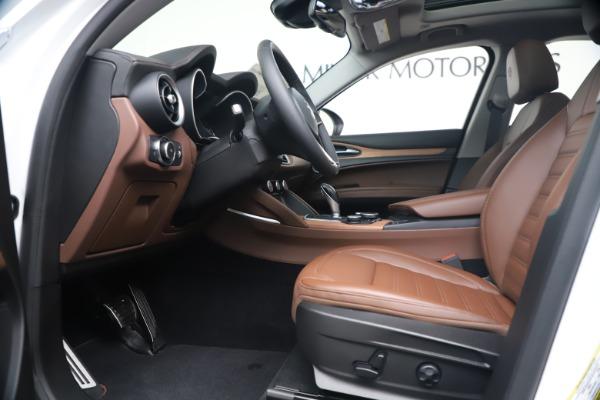 New 2019 Alfa Romeo Stelvio Ti Lusso Q4 for sale Sold at Maserati of Westport in Westport CT 06880 14