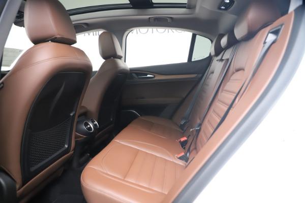 New 2019 Alfa Romeo Stelvio Ti Lusso Q4 for sale Sold at Maserati of Westport in Westport CT 06880 19