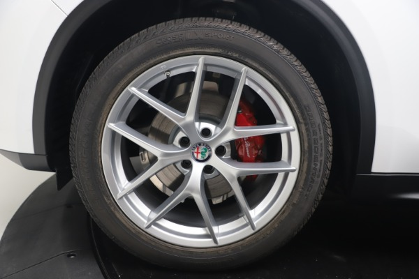 New 2019 Alfa Romeo Stelvio Ti Lusso Q4 for sale Sold at Maserati of Westport in Westport CT 06880 28