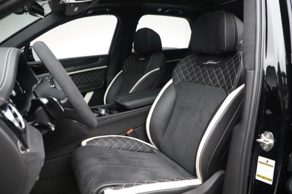 New 2020 Bentley Bentayga Speed for sale $259,495 at Maserati of Westport in Westport CT 06880 19