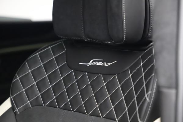 New 2020 Bentley Bentayga Speed for sale $259,495 at Maserati of Westport in Westport CT 06880 20