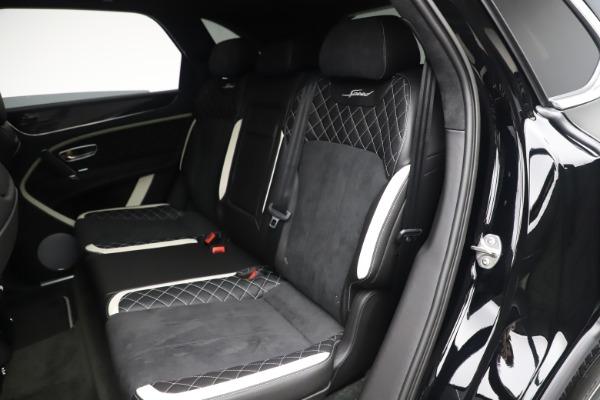 New 2020 Bentley Bentayga Speed for sale $259,495 at Maserati of Westport in Westport CT 06880 21