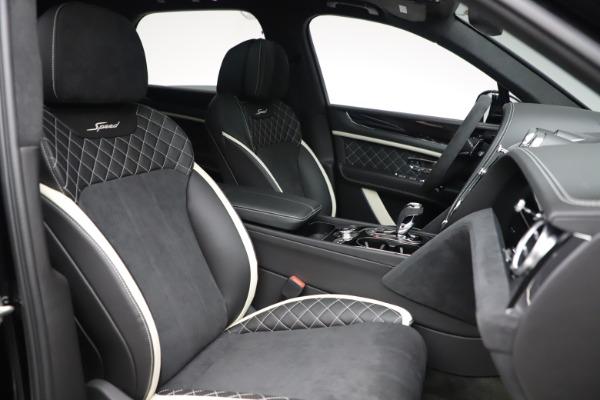 New 2020 Bentley Bentayga Speed for sale $259,495 at Maserati of Westport in Westport CT 06880 26