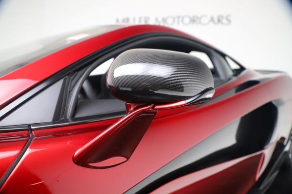 New 2019 McLaren 600LT Luxury for sale $285,236 at Maserati of Westport in Westport CT 06880 15
